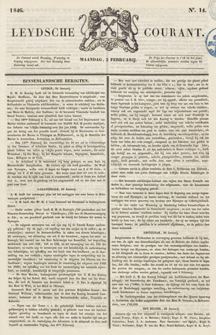 Leydse Courant 1846-02-02