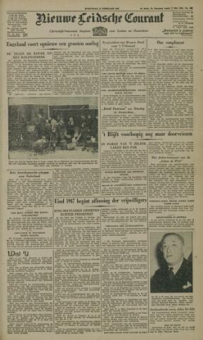 Nieuwe Leidsche Courant 1947-02-12