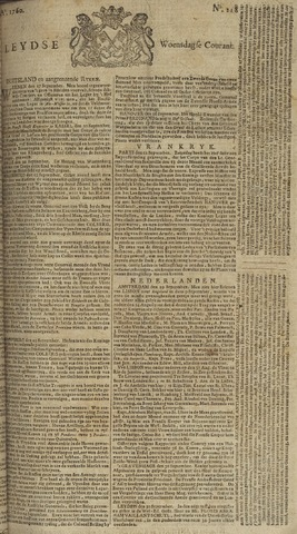 Leydse Courant 1760-10-01