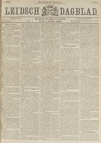 Leidsch Dagblad 1894-10-27