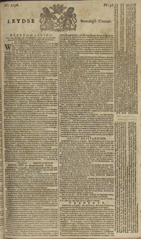 Leydse Courant 1756-08-16