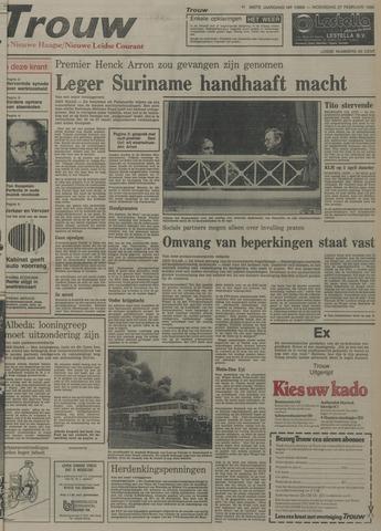 Nieuwe Leidsche Courant 1980-02-27