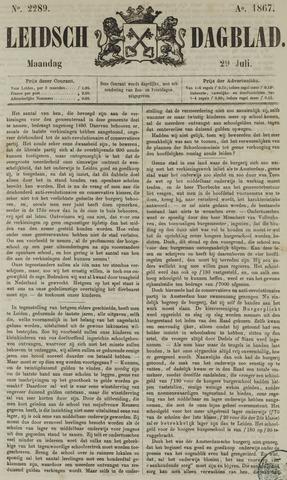 Leidsch Dagblad 1867-07-29