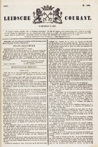 Leydse Courant 1877-05-09