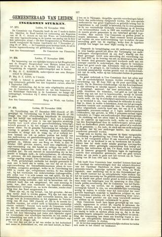 Handelingen van de Raad 1906-11-12