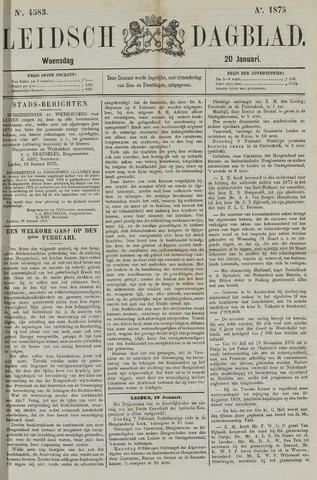 Leidsch Dagblad 1875-01-20