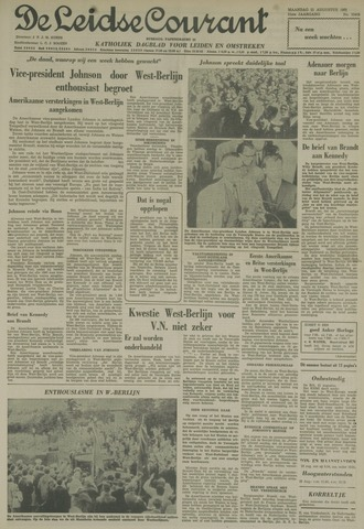Leidse Courant 1961-08-21