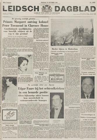 Leidsch Dagblad 1955-10-14