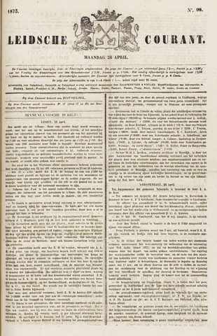 Leydse Courant 1873-04-28