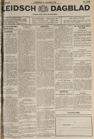 Leidsch Dagblad 1932-08-11