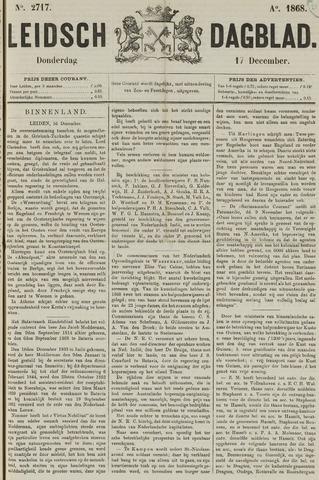Leidsch Dagblad 1868-12-17
