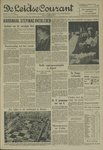 Leidse Courant 1960-02-11