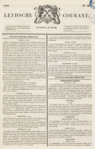 Leydse Courant 1846-07-20