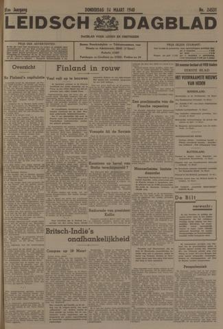 Leidsch Dagblad 1940-03-14