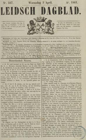 Leidsch Dagblad 1861-04-03