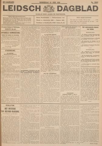Leidsch Dagblad 1928-06-21