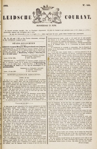 Leydse Courant 1883-06-21