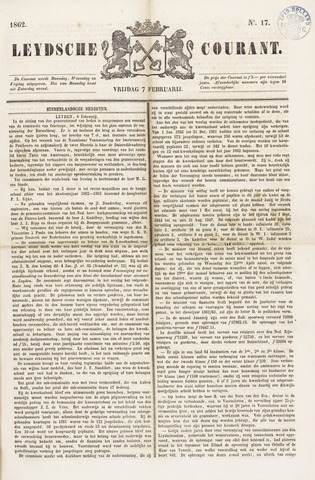 Leydse Courant 1862-02-07