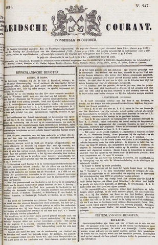 Leydse Courant 1871-10-19