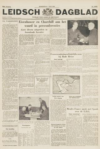Leidsch Dagblad 1954-07-01