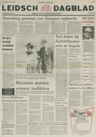 Leidsch Dagblad 1980-06-14