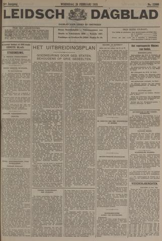 Leidsch Dagblad 1935-02-20