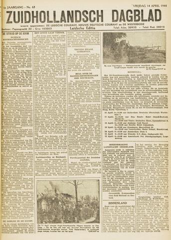 Zuidhollandsch Dagblad 1944-04-13