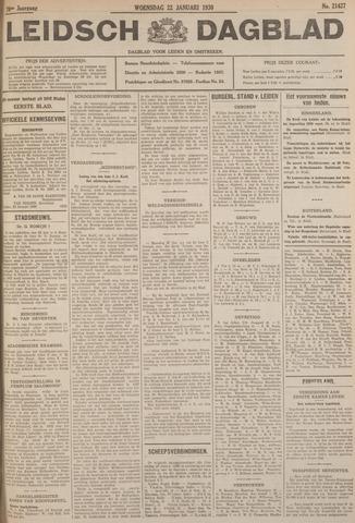 Leidsch Dagblad 1930-01-22