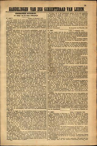 Handelingen van de Raad 1873-09-11