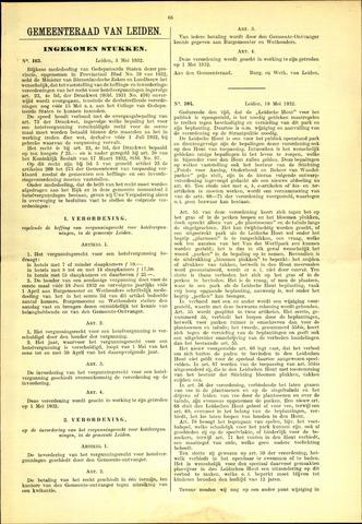 Handelingen van de Raad 1932-05-03