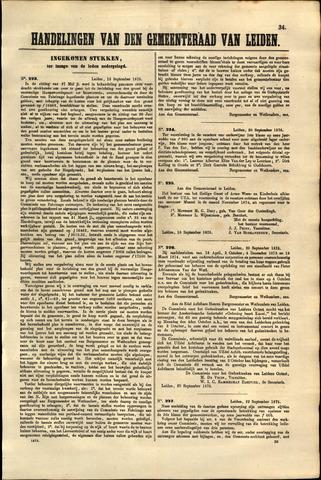 Handelingen van de Raad 1875-09-13