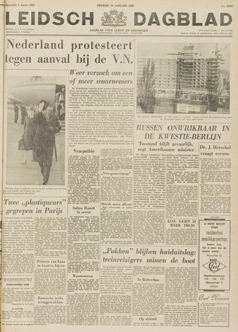 Leidsch Dagblad 1962-01-19