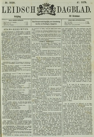 Leidsch Dagblad 1876-10-20