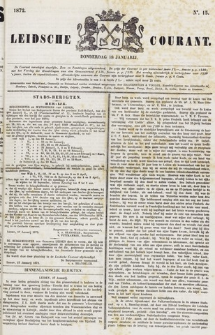 Leydse Courant 1872-01-18