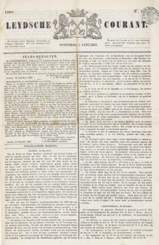Leydse Courant 1868
