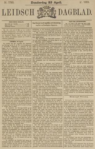 Leidsch Dagblad 1885-04-23