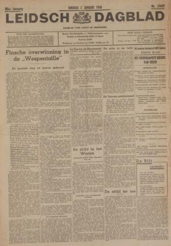 Leidsch Dagblad 1940