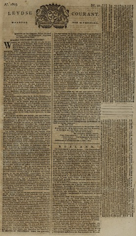 Leydse Courant 1805-02-18