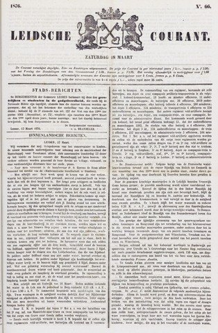 Leydse Courant 1876-03-18