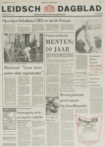 Leidsch Dagblad 1980-07-09