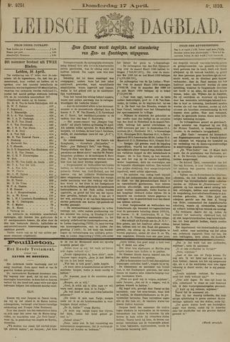 Leidsch Dagblad 1890-04-17