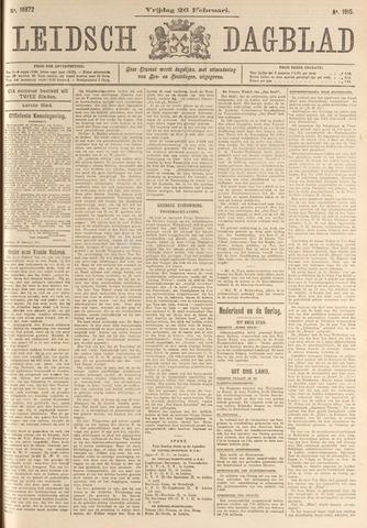 Leidsch Dagblad 1915-02-26