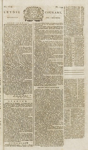Leydse Courant 1819-12-01