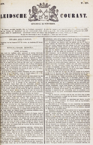 Leydse Courant 1879-11-25