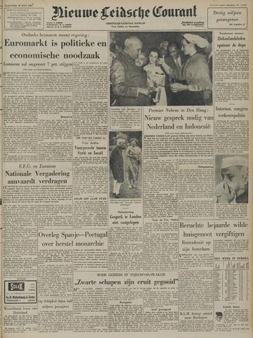 Nieuwe Leidsche Courant 1957-07-10
