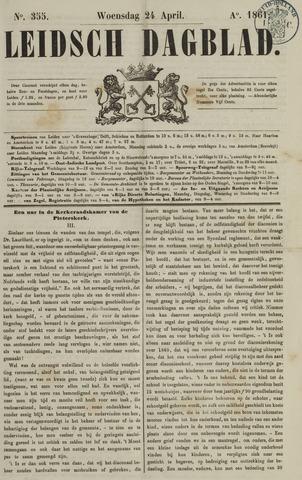 Leidsch Dagblad 1861-04-24