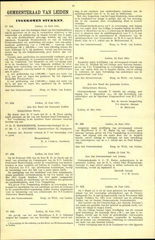 Handelingen van de Raad 1935-07-12