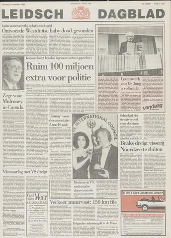 Leidsch Dagblad 1988-11-22
