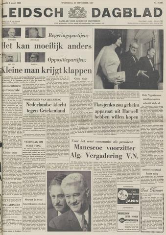 Leidsch Dagblad 1967-09-20