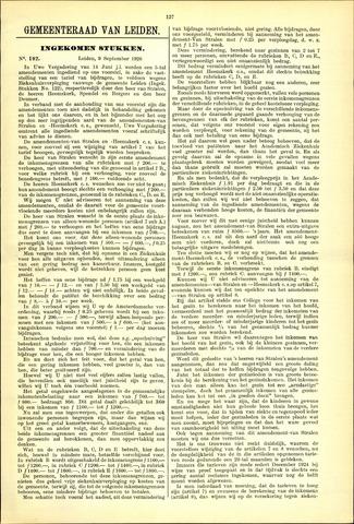Handelingen van de Raad 1926-09-09